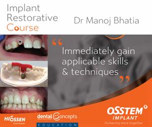 Implant Restorative Course – Dr Manoj Bhatia