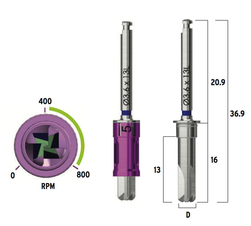 CAS-Drill-Measurements